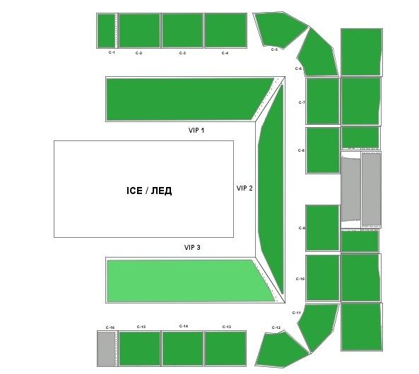 ледниковый период схема зала