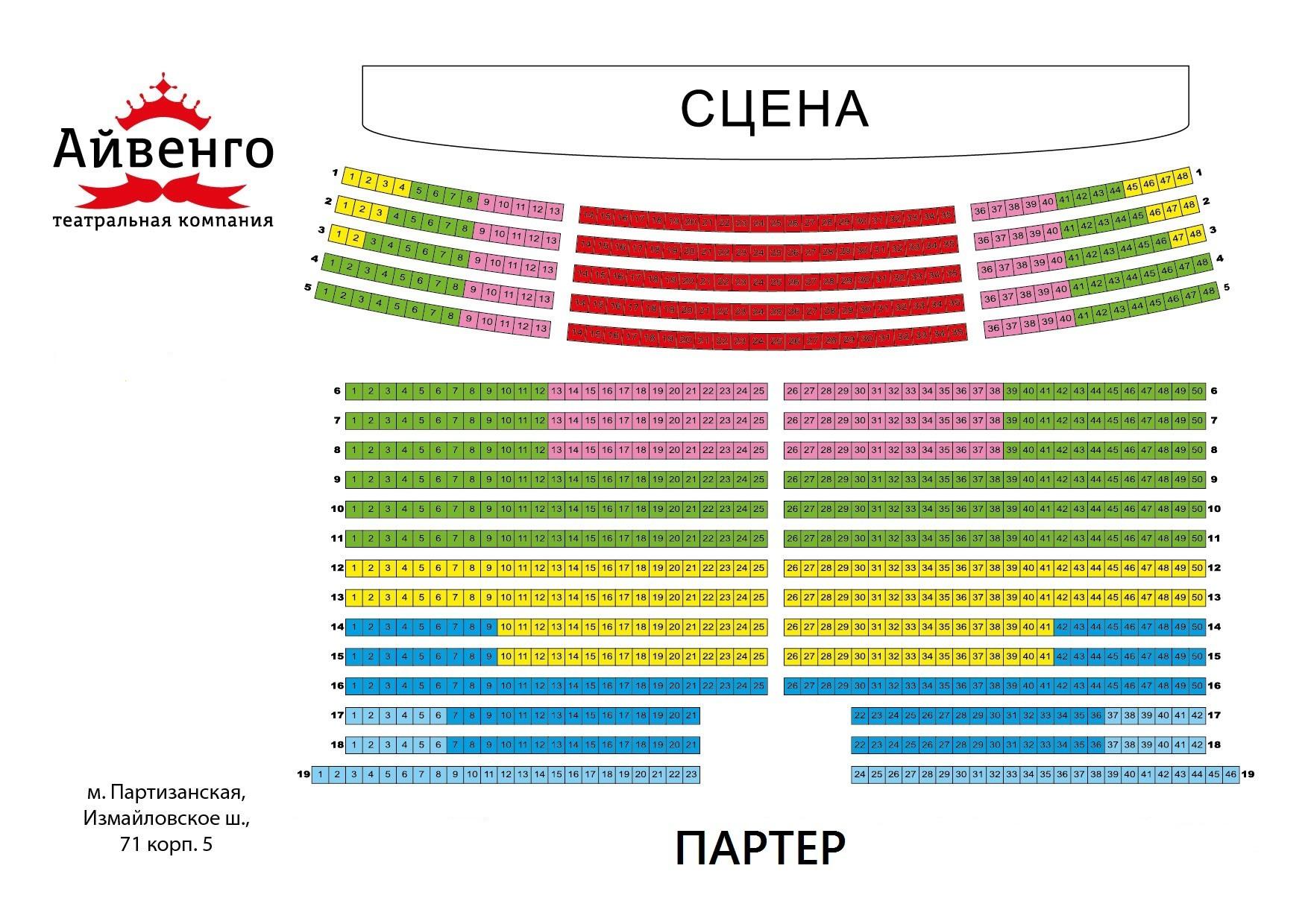 Музыкальный театр айвенго схема